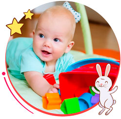 ¿Cómo estimular a tu pequeño de 0 – 6 meses?